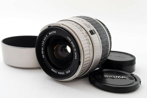 Lente Sigma Geração Ii 28-80 Mm F/3.5 P/ Nikon Full Frame