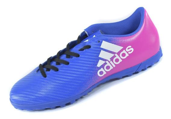 Tenis adidas Para Futbol Rápido Color Azul X 16.4 Envío Full