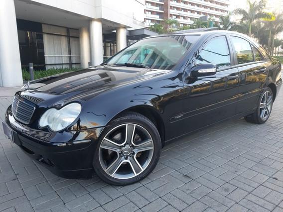 Mercedes-benz C 180 1.8 16v Gasolina 4p Automático Blindado