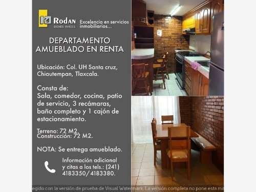 Departamento En Renta Unidad Habitacional Santa Cruz