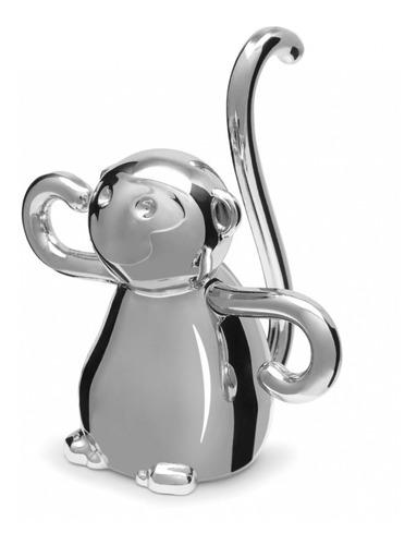 Macaco - Porta Anéis Umbra Cromado