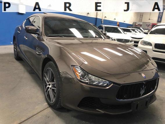 Maserati Ghibli 350 Origen Diplomatico Service Oficial Fcio