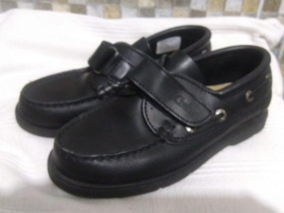 Zapato Mocasín Colegial Cuero Gaby
