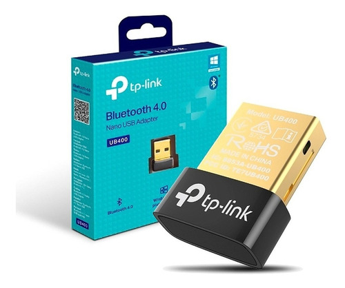 Adaptador Bluetooth Usb Nano Tp-link Ub400 Para Pc Notebook
