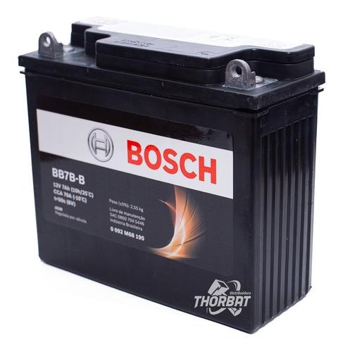 Bateria Moto Bosch Cbx 200 Strada/nx 200 12v 7ah Bb7b-b