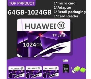 Cartão De Memória Huawei 1024 Gb 4k (pronta Entrega)