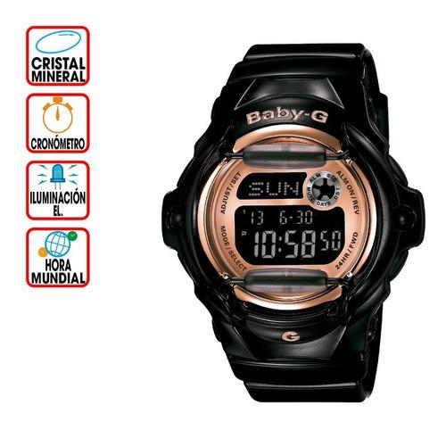 Reloj Casio Baby-g Splash Bg-169g-1 Pinkpalletcolors