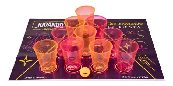 Beer Pong Jugando Spirits - Juego De Shots Para Tequila