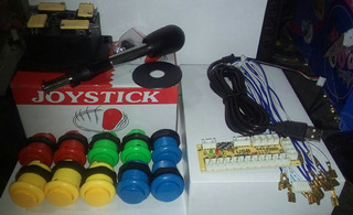 Joystick Arcade ( Kit 1player ) Usb - Pc/ps3