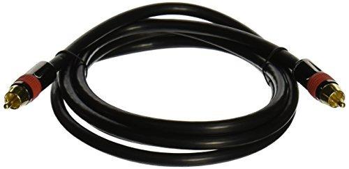 Imagen 1 de 3 de Monoprice 6ft Rg6 U 75 Ohm Cl2 Cable Audio Rca Digital Coaxi