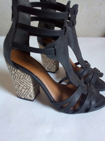 6de764055 Sandalia Gladiadora Salto Bebece - Sapatos no Mercado Livre Brasil