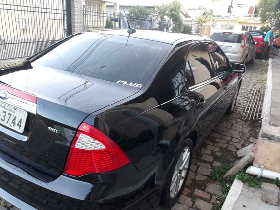Ford Fusion 2012 Preto Sel 2.5 16v 173cv Aut.