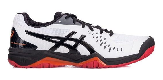 Tênis Asics Gel Challenger 12 All Court Branco E Preto