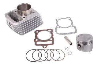 Kit Cilindro Zanella Rx 150 Motomel Cg 150 S2 Cilindro + Piston + Perno + Aros + Juntas Motos Grosso