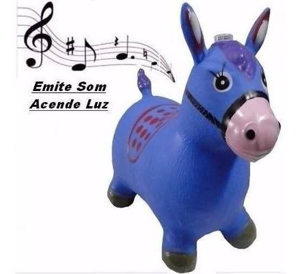 Brinquedo Cavalo De Borracha Upa Up Pula Pula Ideal Criança