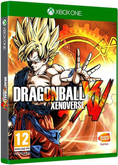 Jogo Dragon Ball Xenoverse Xbox One Disco Físico Dvd Barato