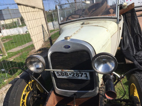 Ford A 1928 - Original - Solo Entendidos - Para Restaurar -