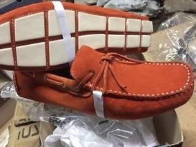 7c211d84b5 Mocassim Driver Masculino Laço - Sapatos Laranja no Mercado Livre Brasil
