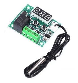 1 Unidades Termostato W1209 - Controle Temperatura -50-110c