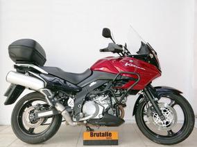 Suzuki Dl1000 Vstrom 2007 Vermelha