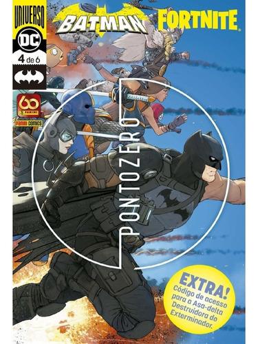 Imagem 1 de 5 de Batman Fortnite Vol.4  Com Asa-delta  - Panini