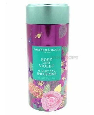 Fortnum And Mason Reino Unido Nuevo Rosa Y Violeta Sedos-002