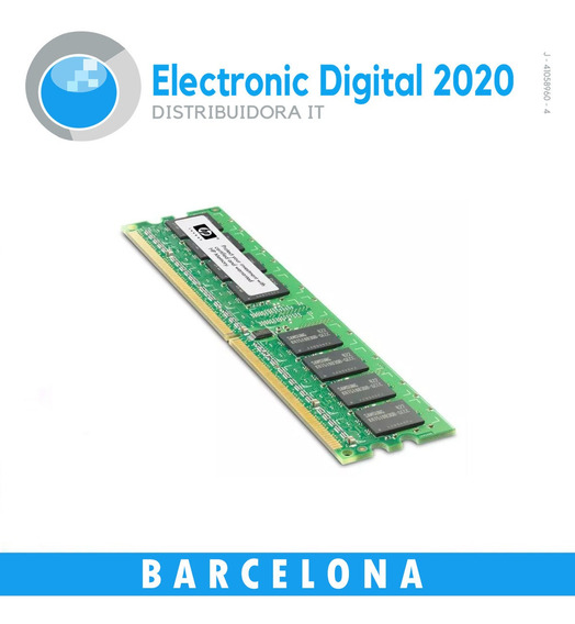 Memoria Ram Hp Ddr3 4gb 1600mhz Pc3-12800 Dimm 240 Pin