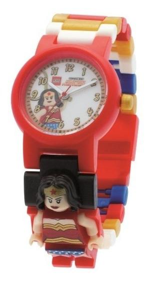 Reloj De Pulso Lego Para Niñas Mujer Maravilla 8020271