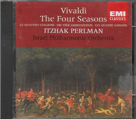 Cd - Vivaldi - The Four Seasons - Itzhaz Perlman - Lacrado