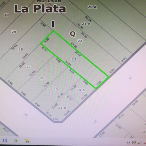 Lote En El Casco De La Plata