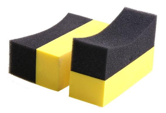 U-shape Pneu Car Depilação Pneu Polimento Rodas Escovas Apli