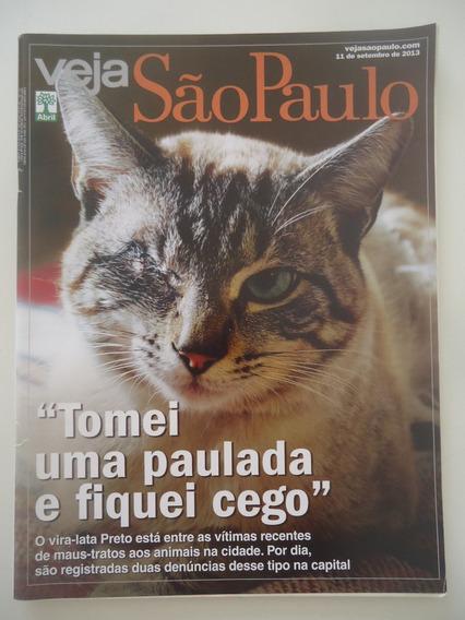 Veja São Paulo #11-set-2013 Maus Tratos Aos Animais