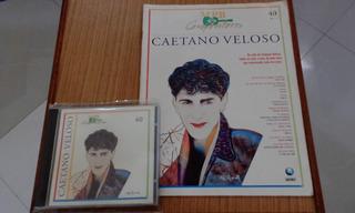 Revista E Cd Da Coleção Mpb Compositores Caetano Veloso Nº 4