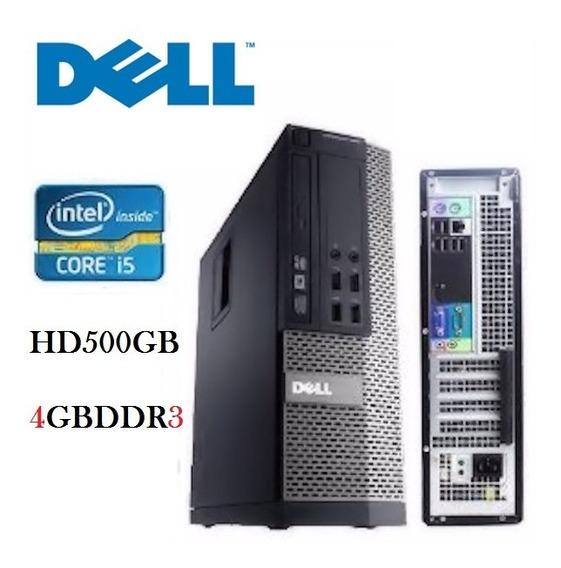 Computador Dell I5 4gb Hd 500gb Com Garantia