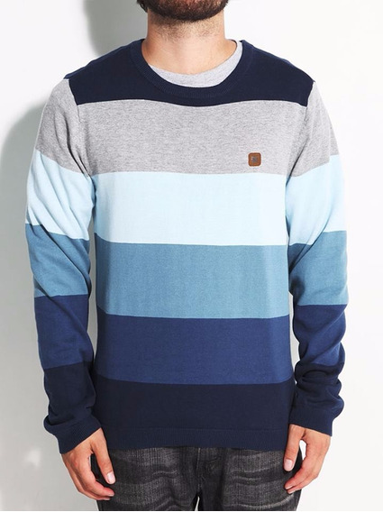 Dc Shoes Remate Chompa Rayas Sweater Original Importado Usa