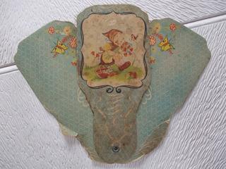 8403-antigua Pantalla T/abanico Publicidad Villa Regina, Rio Negro