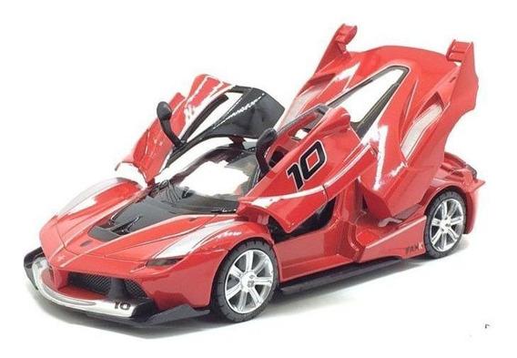 Miniatura Ferrari Vermelha Coleção Escala 1:32 Red