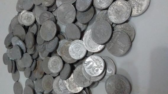 Lote Com 188 Moedas De Aluminio Mbc Nacionais