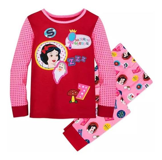 Pijama Menina 100% Algodão Original Disney Store Importado