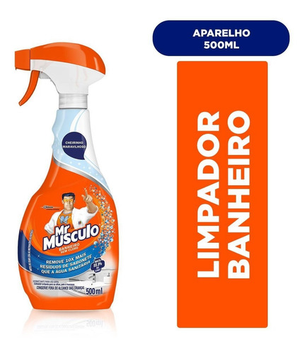Limpador Mr Músculo Banheiro Total Gatilho 500ml