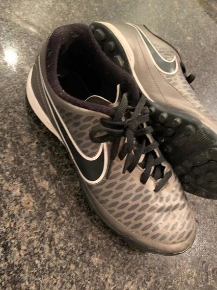 Zapatos Niño Fútbol Nike Magista Microtaco 6y (15)