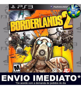 Jogo Ps3 Borderlands 2 Psn Play 3 Mídia Digital