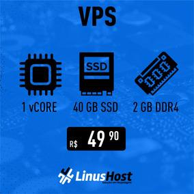 Servidor Vps I7 4.5ghz 2gb Ddr4 50gb Ssd Windows Ou Linux