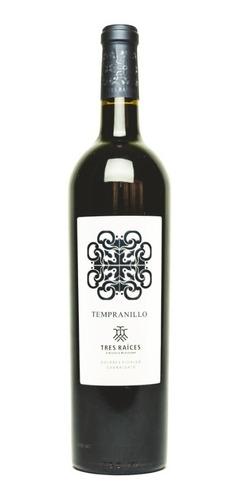 Vino Tinto Tempranillo Tres Raíces 750 Ml
