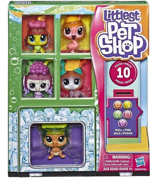Littlest Pet Shop Maquina Expendedora 5 Figuras Hasbro