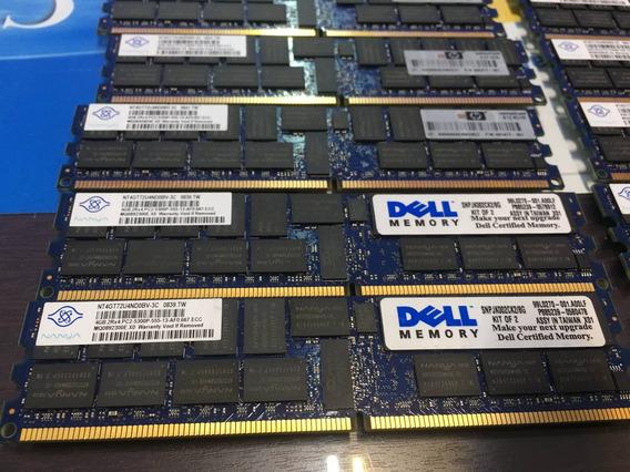 Kit Memoria 8gb Rdimm Pc2-5300p Dell Poweredge T300 R300 Nfe