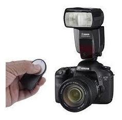 Controle Remoto Disparador De Fotografia Ou Gravação Câmeras Canon Rc-6