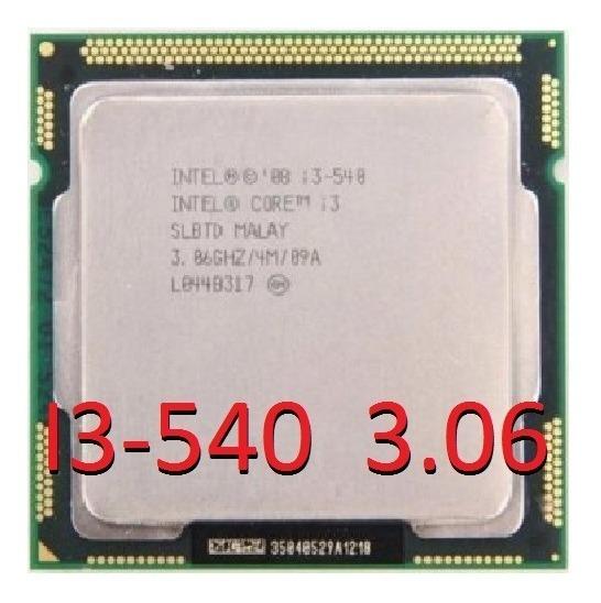 Processador Intel Core I3-540 3.06 Ghz 4 Núcleos