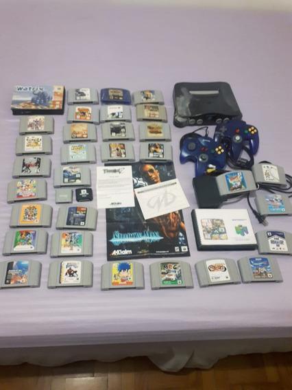 Troco Por Ps4 Nintendo 64 32 Jogos Mario Party 3 Zelda Ogre