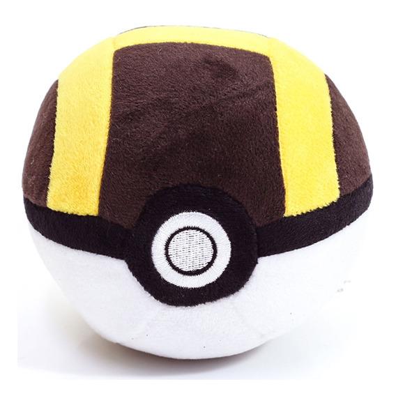 Pelúcia Pequena - 12 Cm - Pokémon - Pokébolas - Pokéball - D